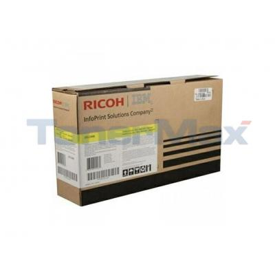 INFOPRINT COLOR 1866 MFP RP TONER CART YELLOW 10K